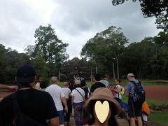 タプロームへ。 観光客やっぱり多い!
