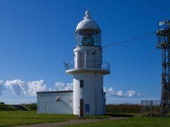 襟裳岬灯台。 灯台もそれぞれ違いがあって見るの楽しいですよね