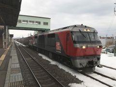 こちらの駅で、小樽周りと苫小牧回りと別れるという大分岐点だった名残があります。