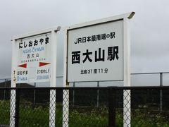 雨はいくらか小ぶりになってきた。  次に訪れたのは、日本最南端駅の西大山駅。