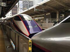 10:00 つばさ133号に乗車。 東京駅は駅弁や土産物屋がたくさんあって楽しい!