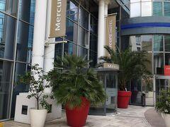 ボルドーで2泊するホテルはMercure Bordeaux Cite Mondiale Centre Ville。 トラム駅にも近い交通の便とホテルの機能性を重視。