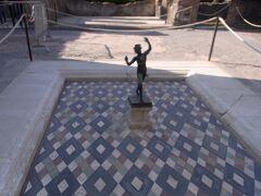 牧神のブロンズ像(レプリカ)