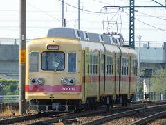 2019.05.04 楠橋 列車は一度引き上げる。