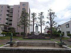 長岡市街の山本五十六記念公園。元連合艦隊司令長官・山本五十六の生誕の地だそうです。