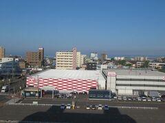 6月3日午前6時。 釧路ロイヤルインで迎える朝。今日もとてもいいお天気です。