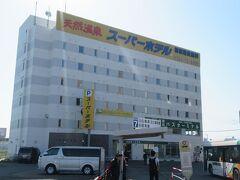 スーパーホテルの1階にある釧路バスターミナルへ。