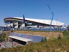 アトレティコ・マドリードの本拠地であるワンダ・メトロポリターノです。