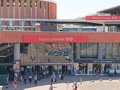 こちらはアトーチャ・セルカニアス駅。
