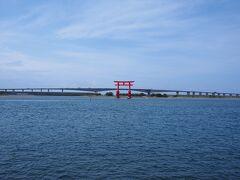 最終日、なんの観光の予定もなかったから最後に立ち寄った浜松の弁天島っ