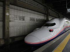 大宮で昼食後、「なすの」で那須塩原へ。なお現在東北新幹線「なすの」では 「50%OFF」で東京から那須塩原まで新幹線に乗れてしまう「えきねっと お先にトクだ値スペシャル」があり、それを今回利用。大宮から那須塩原までの新幹線料金が5000円位でそのうち新幹線自由席料金が2590円なので、普通列車レベルの料金で新幹線に乗れちゃう訳です。