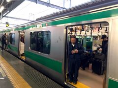 赤羽で下車し、埼京線に乗り換えて、池袋へ。