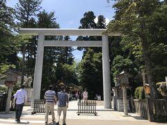 その後、白山比め神社(加賀一の宮)へ 全国に2000社以上ある白山神社の総本宮、白山信仰の中心地