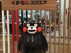 最後のお目当てはここ! せっかく熊本に来たんだから、くまモンに一目でも会って帰りたいよー!
