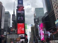タイムズスクエア! ベタな観光地!