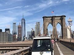 ブルックリンブリッジを渡ります。 いくつかの映画、そしてSATCでも 出て来てます! 今回の旅のわたしの中ではトップ3に入る 訪れたかった所