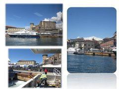 13日(月)カプリ島からナポリに戻って、ホテルにディパックを預けてナポリ散策へ