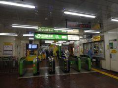 再び駅に戻りました。