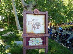 どうしても見たかった『ミッキー・アンド・ザ・マジカルマップ』のショー。  でも今日はお休みのようです・・・(;;)