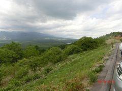 北八ヶ岳方面です。 こちらの方がフォッサマグナの地形が分かりますね。 野辺山高原から見ています。