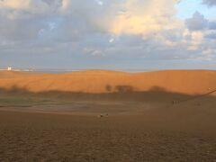鳥取砂丘です。