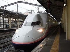当日は9時にブログ仲間と熊谷駅に集合。 切符は手配済みなので、改札内の待合室でゆったりお話ししてから、31分発のMaxときに乗車。  上越新幹線は熊谷~東京間はよく利用しますが、新潟方面で利用することはほとんどなく、今回が初めてかもしれません。 この2階建て車両も数年後には引退してしまうので、今回乗れてよかった!