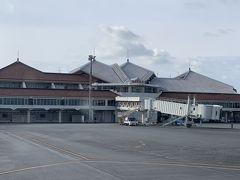 宮古空港に到着 そのまま乗り継いで