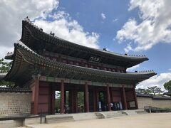 そして1番近くの宮は、チャンギョングン(昌慶宮) 偶然にも世界遺産だった ラッキー!!