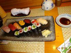 大間の浜寿司でランチをしました
