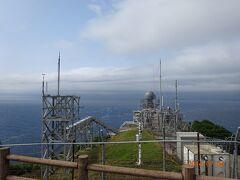 竜飛岬の通信機器類です