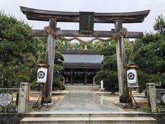 2019/6/15(土)  朝から大雨ですが、ホテルから一番近い「松陰神社」へ。 普通車は駐車場無料です。
