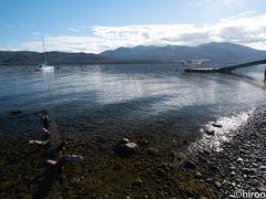 今日の目的地、テ・アナウのテ・アナウ湖。面積342キロ平米と南島で最大。
