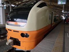 時間になったので移動です。次に乗るのはこの列車。E653系特急いなほ3号、新潟発酒田行き。