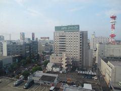 6月10日午前7時半。 ホテルJALシティ宮崎で迎える朝。 朝から日差しも強くて暑くなりそう。