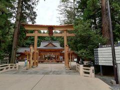 関越道→上信越道を経て、安曇野到着。 パワースポットとして有名な穂高神社に来ました。