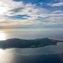 いよいよ石垣島ですよ〜。 空がきれいだ!