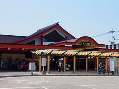 西鉄太宰府駅まで戻ってきました。