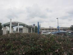 再び市民体育館通りを歩いてアリオまで戻ってきました