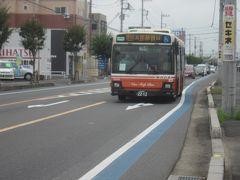 さっきアリオの近くを歩いていた時にすれ違ったバスが来た