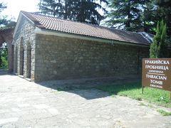 紀元前4世紀後半から紀元前3世紀にトラキア人が建てたそうです。