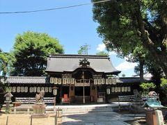 2019年6月25日 火曜日 AM11:34 平等院横の県神社 (拝観料無料 駐車場無し)