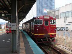 旅の出発は函館から、函館から江差ルートは、直行バスがあるが3時間かかり退屈、木古内までいさりび鉄道で行き、バスに乗り換えるルートを選択、こちらも3時間かかる。