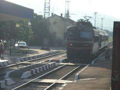 6時44分、カザンラク駅を出て、絶景のベリコ・タルノボに向かいます。