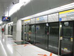 地下鉄エスプラネード駅からマリーナベイサンズへ☆