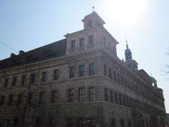 旧市庁舎、もとは監獄だったそうです。