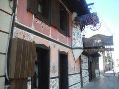ホテルとライオン橋の間に雰囲気の良いレストランがあったので入ってみました。 後で調べたらフォートラベルさんのソフィアレストランランキングのトップでした。 https://4travel.jp/overseas/area/europe/bulgaria/sofiya/restaurant/