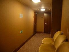市民会館のすぐ近く、ホテルキングスコートに入ったところ、地下にトイレがあるというのでエレベータに乗って行ってみた。なんと無料で大変きれいなトイレが利用できた。今回の旅行で街中の無料トイレは初めての経験だった。 この後、タブレットと予備バッテリーの両方が切れそうになった。Google Mapがないと市内で動くのがむつかしくなるので、一旦ホテルに帰って充電した。 7時半からレストラン「Lokal」に予約を入れていたのだが、妻が疲れていく気にならないというので、キャンセルの電話を入れた(後から地図を見たら、市民会館からこのレストランまで徒歩5分だった)。
