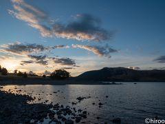 テカポ湖の夕景