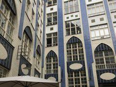 ハッケシェヘーフェという、集合住宅兼お店的なインスタ映えスポット。