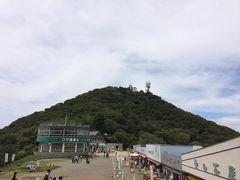 あちらが女体山。反対側にある男体山と比べて少し高い。 まるで我が家の権力構造か。